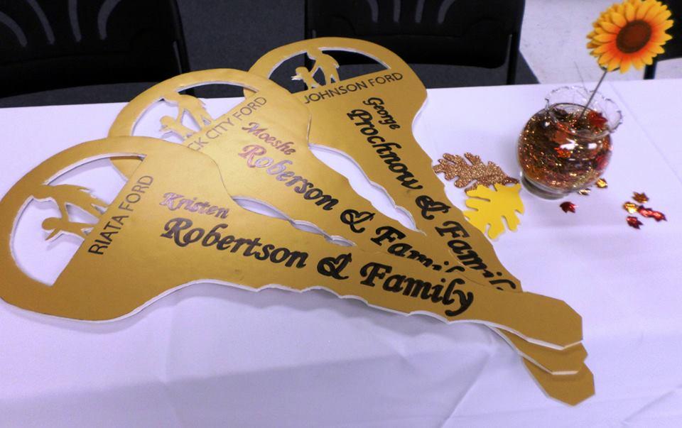 Key Ceremony Responsible Parenting Award Leif Johnson