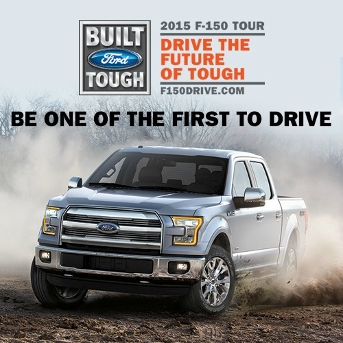 drive the future of tough ford f 150 tour leif johnson auto group. Black Bedroom Furniture Sets. Home Design Ideas